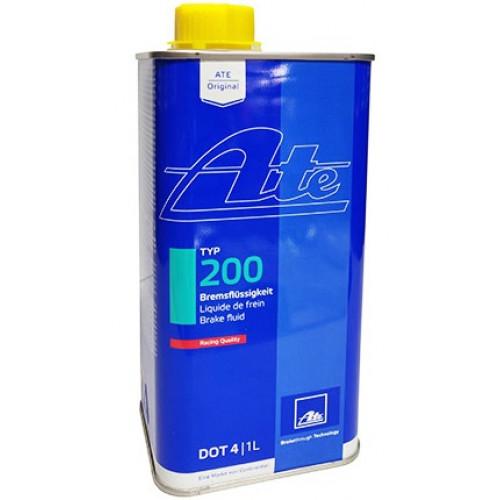 Υγρό Φρένων & Συμπλέκτη ATE TYPE 200 DOT 4 Racing 1lt