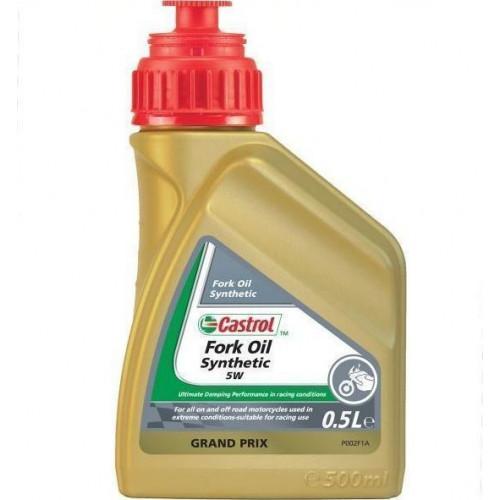 Συνθετικό Υδραυλικό Λιπαντικό Αναρτήσεων CASTROL Fork Oil 5W 500ml